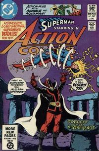 Cover Thumbnail for Action Comics (DC, 1938 series) #527 [Direct Sales]