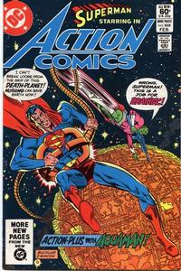 Cover Thumbnail for Action Comics (DC, 1938 series) #528 [Direct Sales]