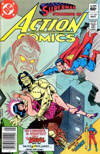 Cover Thumbnail for Action Comics (DC, 1938 series) #531 [Newsstand]
