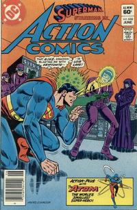 Cover Thumbnail for Action Comics (DC, 1938 series) #532 [Newsstand]