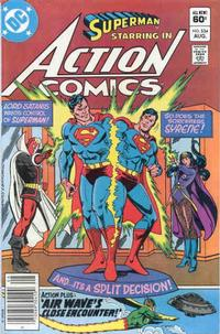 Cover Thumbnail for Action Comics (DC, 1938 series) #534 [Newsstand]