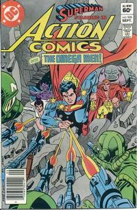 Cover Thumbnail for Action Comics (DC, 1938 series) #535 [Newsstand]