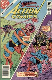 Cover Thumbnail for Action Comics (DC, 1938 series) #537