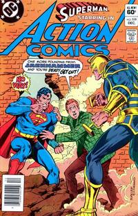 Cover Thumbnail for Action Comics (DC, 1938 series) #538