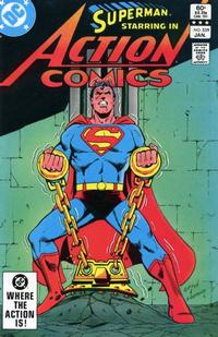 Cover Thumbnail for Action Comics (DC, 1938 series) #539 [Direct Sales]