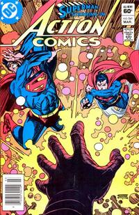 Cover Thumbnail for Action Comics (DC, 1938 series) #541 [Newsstand]