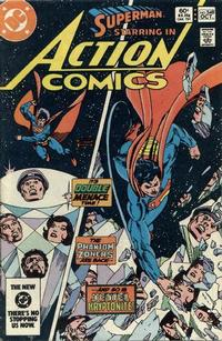 Cover Thumbnail for Action Comics (DC, 1938 series) #548 [Direct]