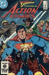 Cover Thumbnail for Action Comics (DC, 1938 series) #557 [Direct]