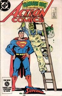 Cover Thumbnail for Action Comics (DC, 1938 series) #560 [direct-sales]