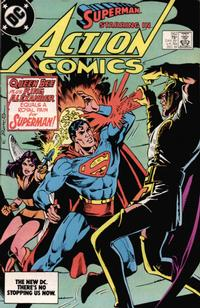 Cover Thumbnail for Action Comics (DC, 1938 series) #562 [Direct]