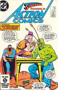 Cover Thumbnail for Action Comics (DC, 1938 series) #563 [Direct-Sales Variant]