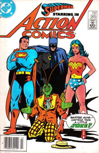 Cover Thumbnail for Action Comics (DC, 1938 series) #565