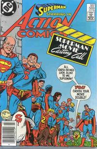 Cover Thumbnail for Action Comics (DC, 1938 series) #569 [Canadian]