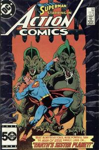 Cover Thumbnail for Action Comics (DC, 1938 series) #576 [Direct Sales]
