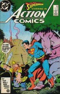 Cover Thumbnail for Action Comics (DC, 1938 series) #579 [Direct Edition]
