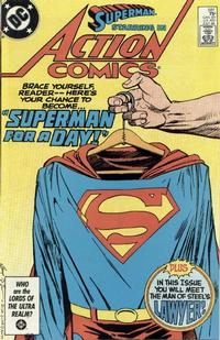 Cover Thumbnail for Action Comics (DC, 1938 series) #581 [Direct]