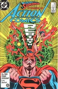 Cover Thumbnail for Action Comics (DC, 1938 series) #582 [Direct]