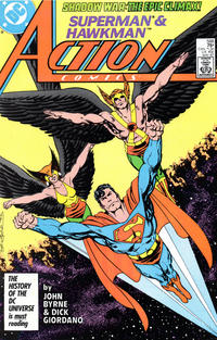 Cover Thumbnail for Action Comics (DC, 1938 series) #588 [Direct]