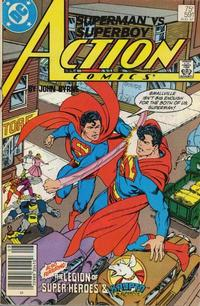 Cover Thumbnail for Action Comics (DC, 1938 series) #591 [Newsstand]