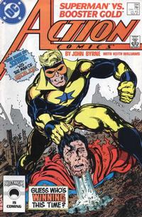 Cover Thumbnail for Action Comics (DC, 1938 series) #594 [Direct]