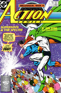 Cover Thumbnail for Action Comics (DC, 1938 series) #596 [Direct]
