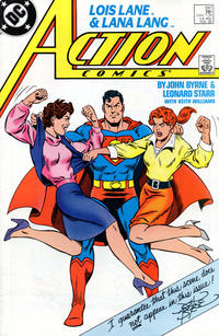 Cover Thumbnail for Action Comics (DC, 1938 series) #597 [Direct]