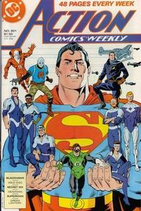 Cover Thumbnail for Action Comics Weekly (DC, 1988 series) #601