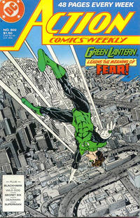 Cover Thumbnail for Action Comics Weekly (DC, 1988 series) #602