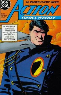Cover Thumbnail for Action Comics Weekly (DC, 1988 series) #603