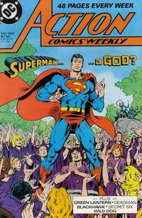 Cover Thumbnail for Action Comics Weekly (DC, 1988 series) #606