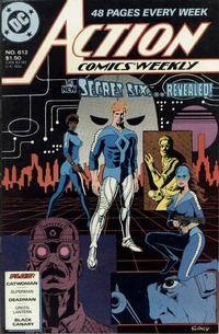 Cover Thumbnail for Action Comics Weekly (DC, 1988 series) #612