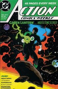 Cover Thumbnail for Action Comics Weekly (DC, 1988 series) #614