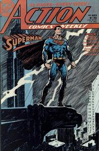Cover Thumbnail for Action Comics Weekly (DC, 1988 series) #623