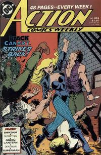 Cover Thumbnail for Action Comics Weekly (DC, 1988 series) #624
