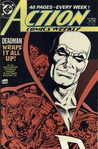 Cover Thumbnail for Action Comics Weekly (DC, 1988 series) #625