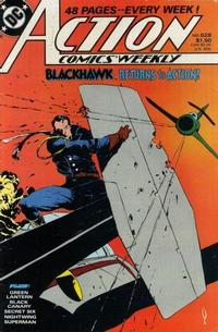 Cover Thumbnail for Action Comics Weekly (DC, 1988 series) #628