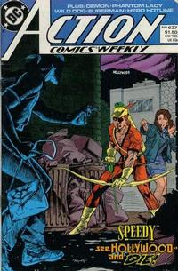 Cover Thumbnail for Action Comics Weekly (DC, 1988 series) #637