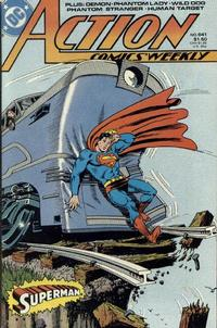 Cover Thumbnail for Action Comics Weekly (DC, 1988 series) #641