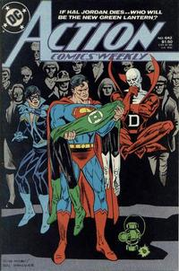 Cover Thumbnail for Action Comics Weekly (DC, 1988 series) #642