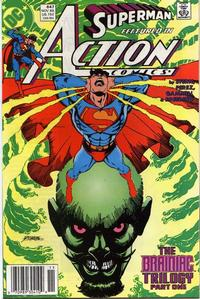 Cover Thumbnail for Action Comics (DC, 1938 series) #647 [Newsstand]
