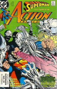 Cover Thumbnail for Action Comics (DC, 1938 series) #648 [Direct]