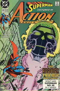 Cover Thumbnail for Action Comics (DC, 1938 series) #649 [Direct]