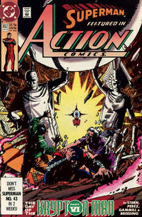 Cover Thumbnail for Action Comics (DC, 1938 series) #652 [Direct]