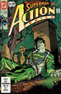 Cover Thumbnail for Action Comics (DC, 1938 series) #653