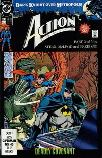 Cover Thumbnail for Action Comics (DC, 1938 series) #654