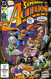 Cover Thumbnail for Action Comics (DC, 1938 series) #657 [Direct]