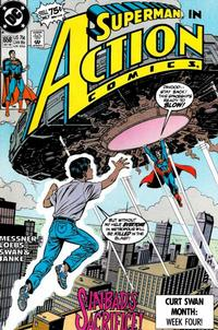 Cover Thumbnail for Action Comics (DC, 1938 series) #658 [Direct]
