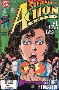Cover Thumbnail for Action Comics (DC, 1938 series) #662 [Direct]