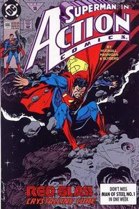 Cover Thumbnail for Action Comics (DC, 1938 series) #666 [Direct]