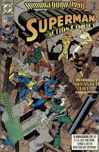 Cover Thumbnail for Action Comics (DC, 1938 series) #670 [Direct]